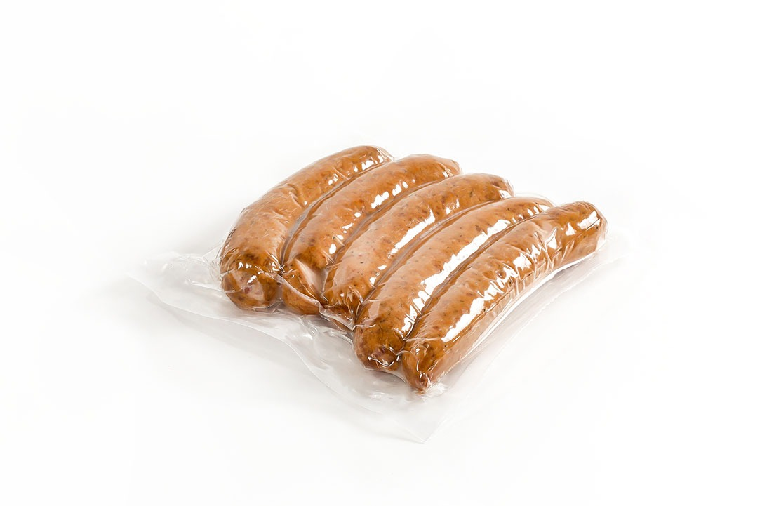 vacuum sealed formed chorizo packaging