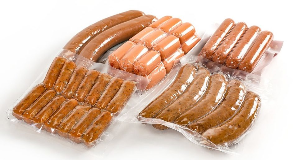 vacuum sealed formed meat packaging
