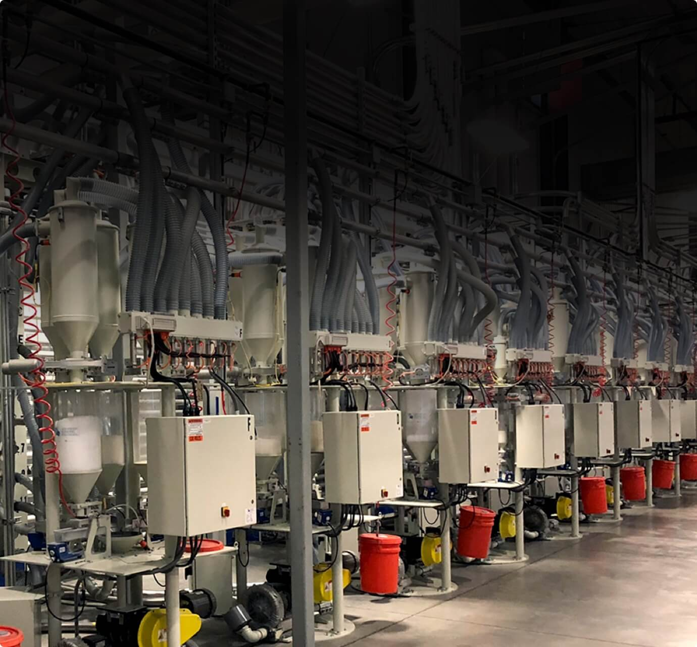 advanced barrier extrusions equipment