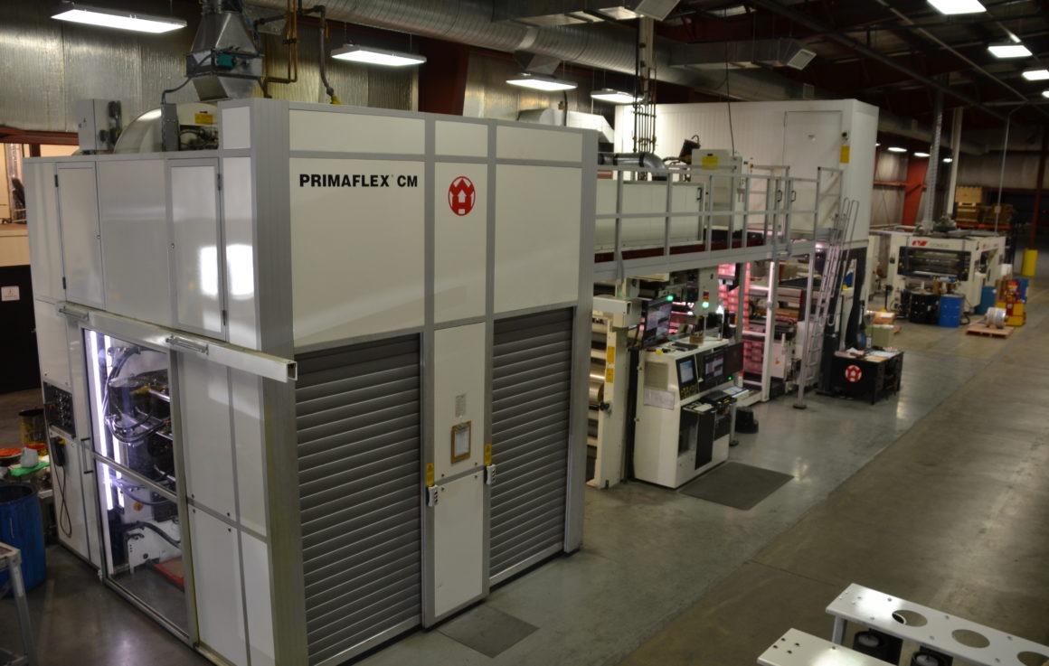 Windmoeller and Hoelscher 8 Color Press