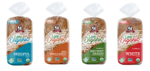 aunt millie's bakeries live organic breads