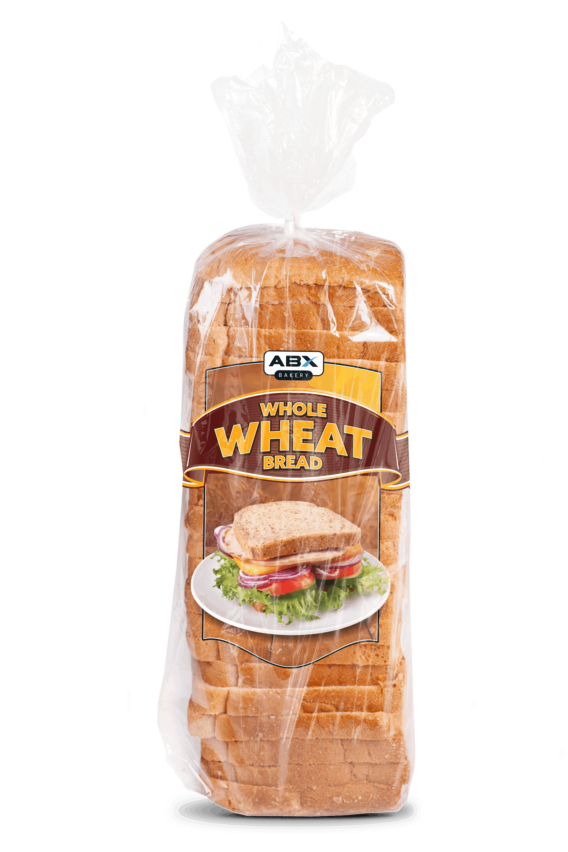 wheat bread in abx bag